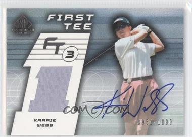 2003 SP Game Used Edition #79 - Karrie Webb /1000
