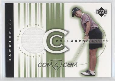 2003 Upper Deck - Collared Classics #CC-KW - Karrie Webb