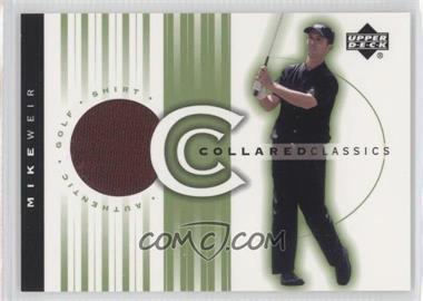 2003 Upper Deck - Collared Classics #CC-MW - Mike Weir
