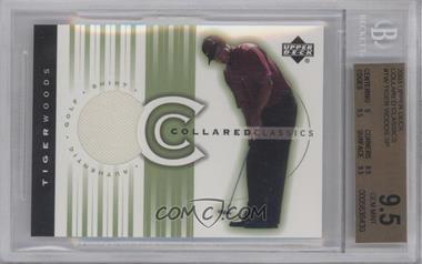 2003 Upper Deck - Collared Classics #CC-TW - Tiger Woods [BGS9.5]