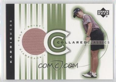 2003 Upper Deck Collared Classics #CC-KW - Karrie Webb