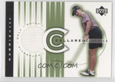 2003 Upper Deck Collared Classics #CC-KW - Karrie Webb