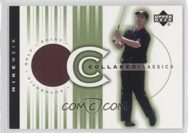 2003 Upper Deck Collared Classics #CC-MW - Mike Weir