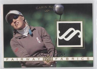 2003 Upper Deck Fairway Fabrics #FF-CK - Carin Koch