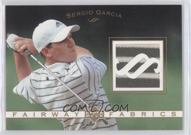 2003 Upper Deck Fairway Fabrics #FF-SG - Sergio Garcia