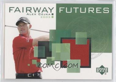 2003 Upper Deck Fairway Futures #FU-AC - Alex Cejka
