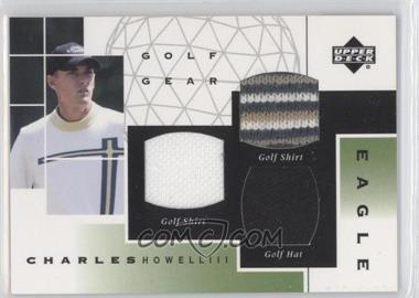 2003 Upper Deck Golf Gear Eagle Triple Materials #GE-CH - Charles Howell III