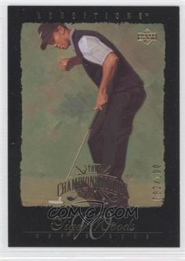 2003 Upper Deck Renditions - [Base] - Gold #85 - Tiger Woods /100