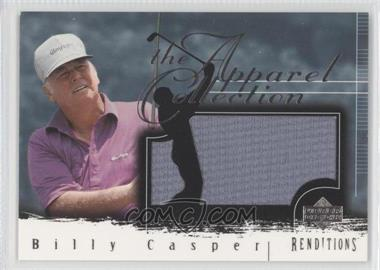 2003 Upper Deck Renditions Apparel Collection #AC-BC - Billy Casper