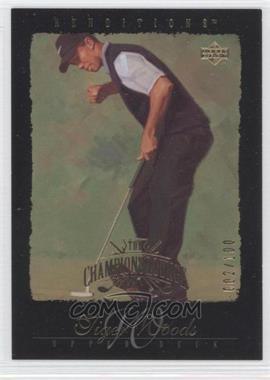 2003 Upper Deck Renditions Gold #85 - Tiger Woods /100