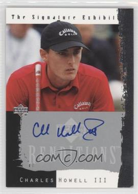 2003 Upper Deck Renditions The Signature Exhibit #N/A - Charles Howell III