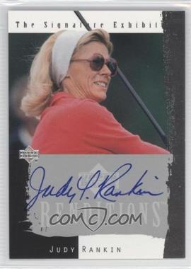 2003 Upper Deck Renditions The Signature Exhibit #N/A - Judy Rankin