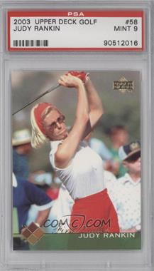 2003 Upper Deck #58 - Judy Rankin [PSA 9]