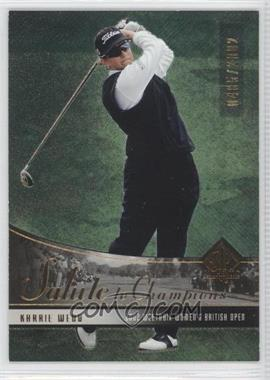 2004 SP Authentic - [Base] #86 - Karrie Webb /2002