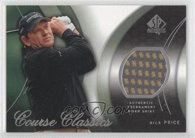 2004 SP Authentic - Course Classics #CC38 - Nick Price