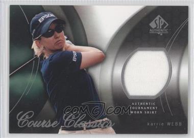 2004 SP Authentic Course Classics #CC6 - Karrie Webb
