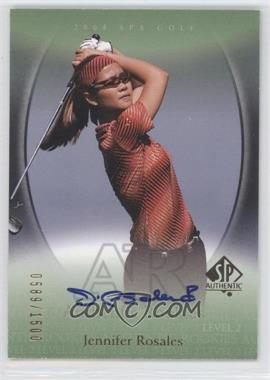 2004 SP Authentic #103 - Jennifer Rosales /1500