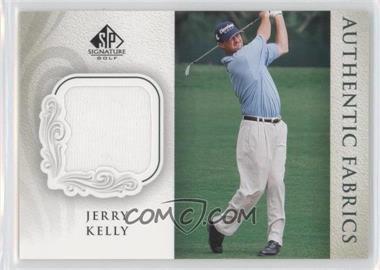 2004 SP Signature - Authentic Fabrics #AF-JK - Jerry Kelly