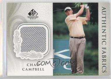 2004 SP Signature Authentic Fabrics #AF-CC - Chad Campbell
