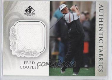 2004 SP Signature Authentic Fabrics #AF-FC - Fred Couples