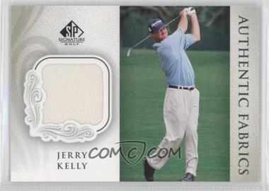 2004 SP Signature Authentic Fabrics #AF-JK - Jerry Kelly