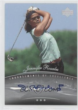 2004 SP Signature Endorsements of Excellence #A21 - Jennifer Rosales