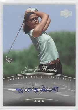 2004 SP Signature Endorsements of Excellence #A21 - Jennifer Rosales