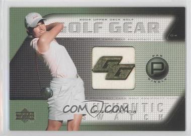 2004 Upper Deck - Golf Gear - Par Single #LO-GG - Lorena Ochoa