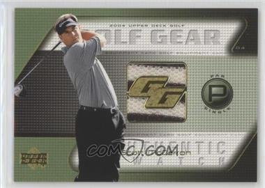 2004 Upper Deck - Golf Gear - Par Single #SM-GG - Scott McCarron