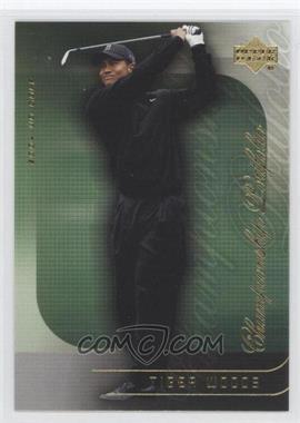 2004 Upper Deck Championship Portfolio #CP3 - Tiger Woods