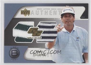 2004 Upper Deck Golf Gear Birdie Dual #FC-GGB - Fred Couples