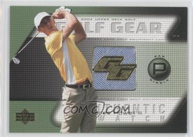 2004 Upper Deck Golf Gear Par Single #CH-GG - Charles Howell III