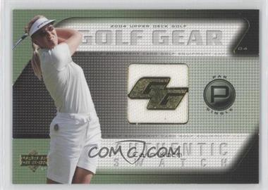 2004 Upper Deck Golf Gear Par Single #CK-GG - Carin Koch