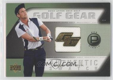 2004 Upper Deck Golf Gear Par Single #JP-GG - Jesper Parnevik