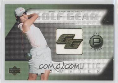 2004 Upper Deck Golf Gear Par Single #LO-GG - Lorena Ochoa
