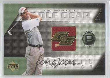2004 Upper Deck Golf Gear Par Single #PH-GG - Padraig Harrington