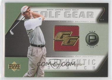 2004 Upper Deck Golf Gear Par Single #PH-GG - Padraig Harrington