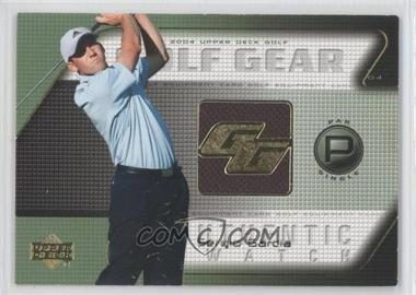2004 Upper Deck Golf Gear Par Single #SG-GG - Sergio Garcia