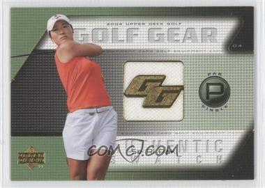 2004 Upper Deck Golf Gear Par Single #SR-GG - Se Ri Pak