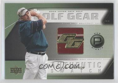 2004 Upper Deck Golf Gear Par Single #ST-GG - Curtis Strange