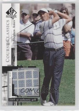 2005 SP Authentic Course Classics Golf Shirts #CC24 - Stephen Ames