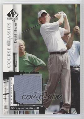 2005 SP Authentic Course Classics Golf Shirts #CC25 - David Hearn
