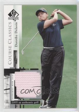 2005 SP Authentic Course Classics Golf Shirts #CC26 - Dorothy Delasin