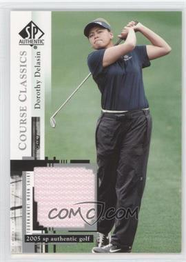 2005 SP Authentic Course Classics Golf Shirts #CC26 - Dorothy Delasin