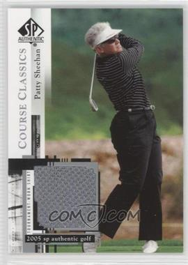 2005 SP Authentic Course Classics Golf Shirts #CC30 - Patty Sheehan