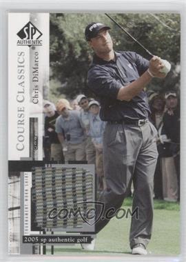 2005 SP Authentic Course Classics Golf Shirts #CC9 - Chris DiMarco