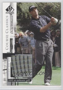 2005 SP Authentic Course Classics Golf Shirts #CC9 - Chris DiMarco