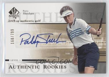 2005 SP Authentic #105 - Patty Sheehan /799