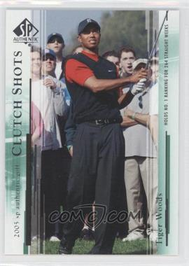 2005 SP Authentic #58 - Tiger Woods