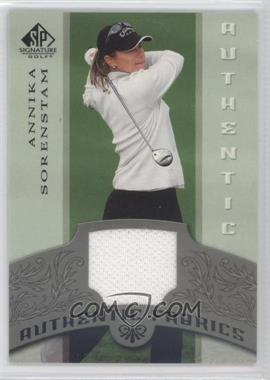 2005 SP Signature [???] #AF-AS - Annika Sorenstam